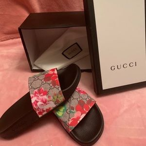 Gucci Blooms Slides